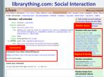 librarything com social interaction