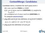 contextmerge candidates