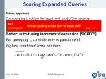 scoring expanded queries