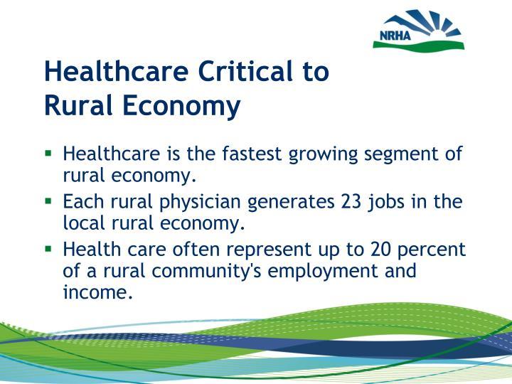 Healthcare Critical to