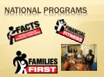 national programs1