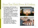about van vleck house gardens5