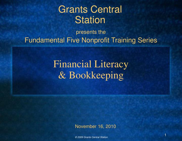financial literacy bookkeeping n.