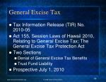 general excise tax1