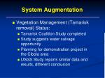 system augmentation