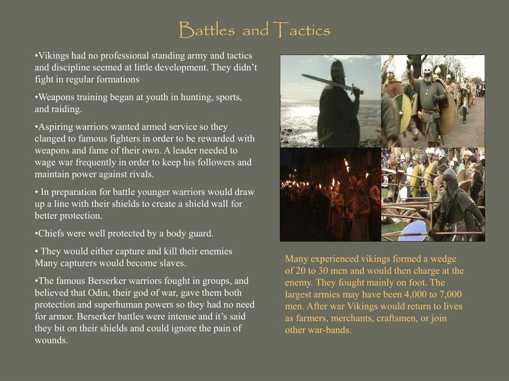 Battles  and Tactics