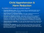 child apprehension harm reduction