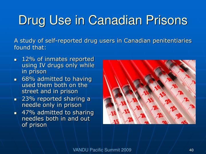 Drug Use in Canadian Prisons