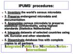 ipums i procedures