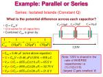 example parallel or series1