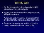 btris will