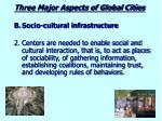 three major aspects of global cities2