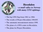 hessdalen a small valley in norway with many ufo sightings