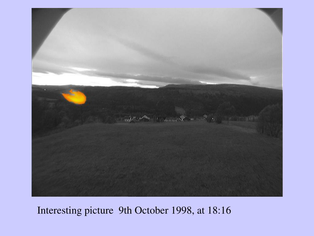 Interesting picture  9th October 1998, at 18:16