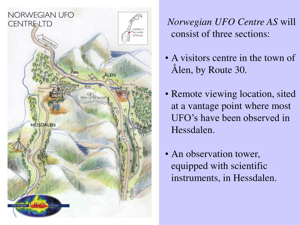 Norwegian UFO Centre AS