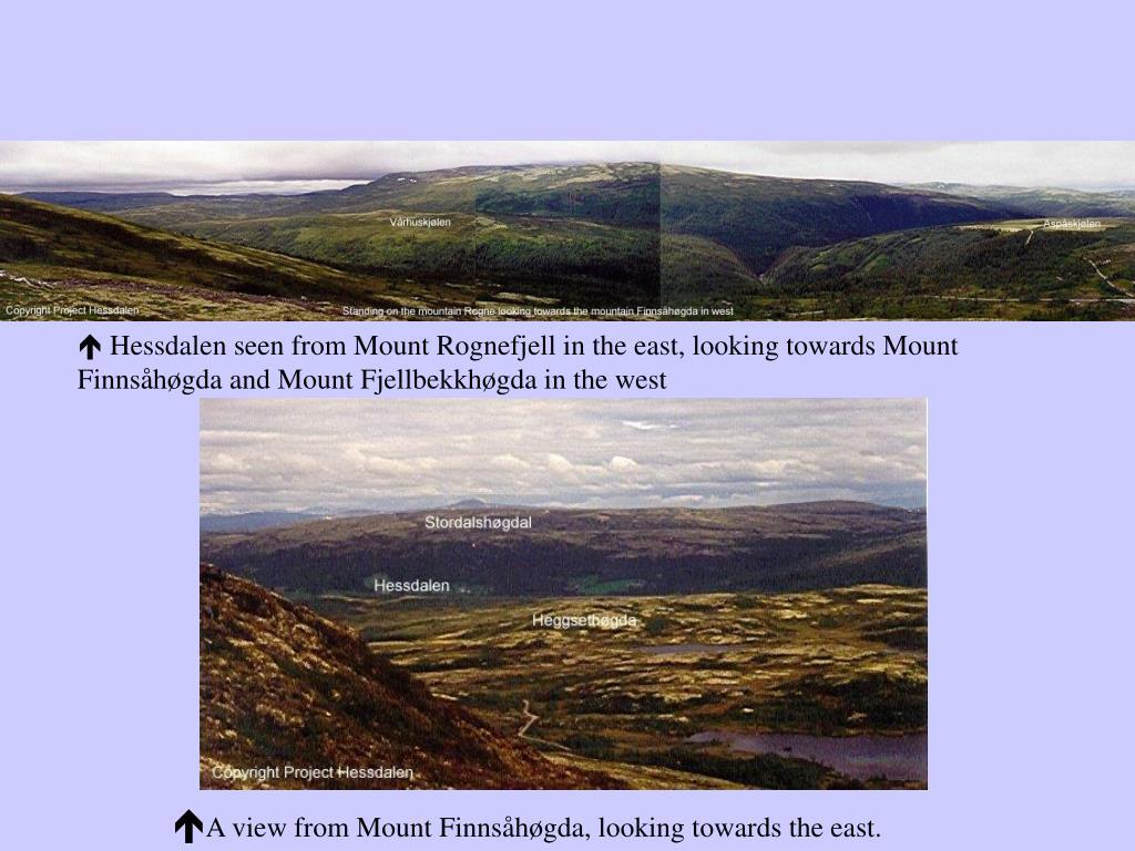  Hessdalen seen from Mount