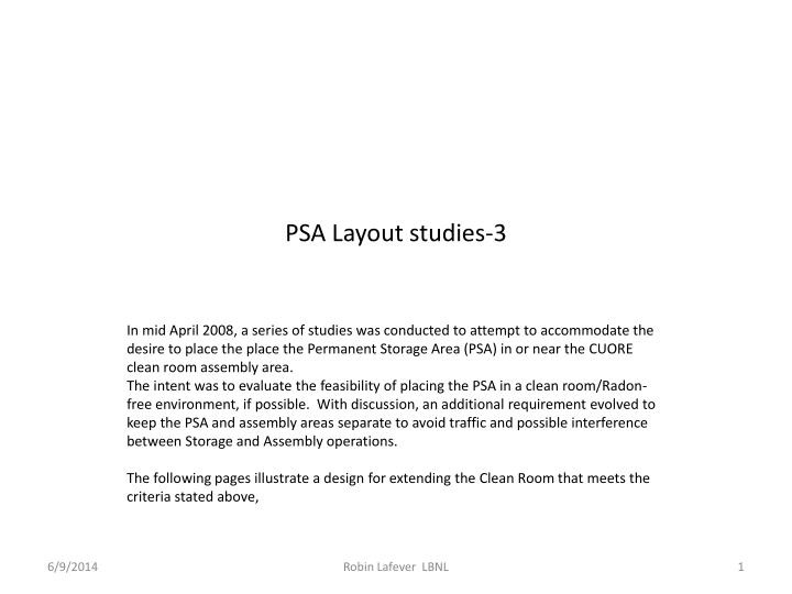 psa layout studies 3 n.