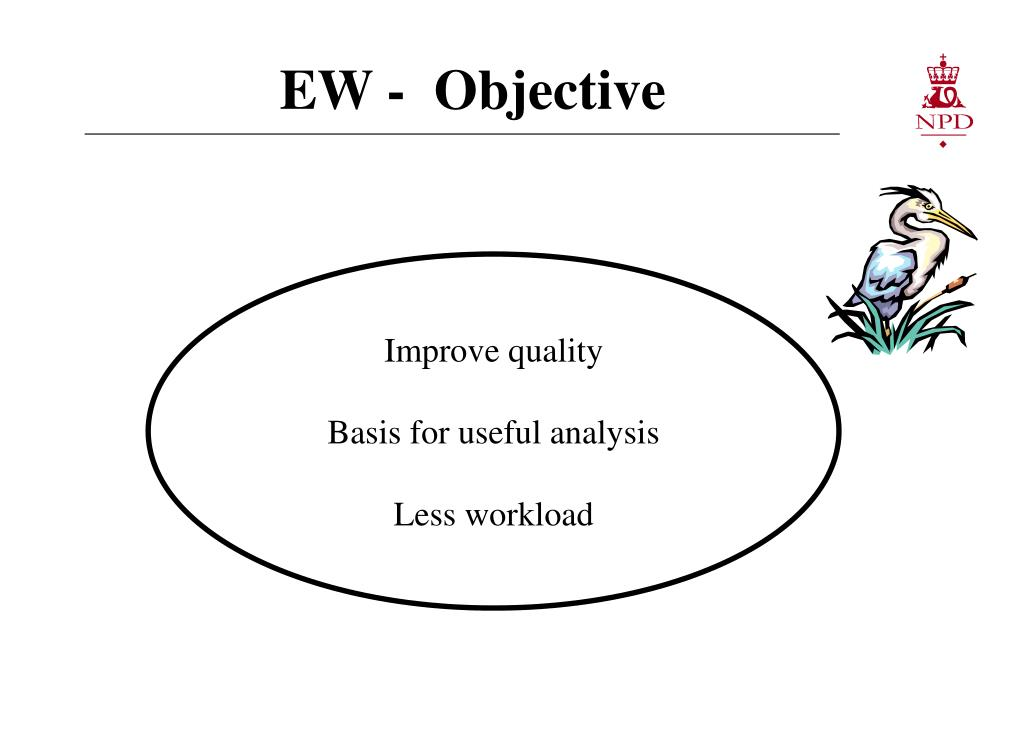 EW -  Objective