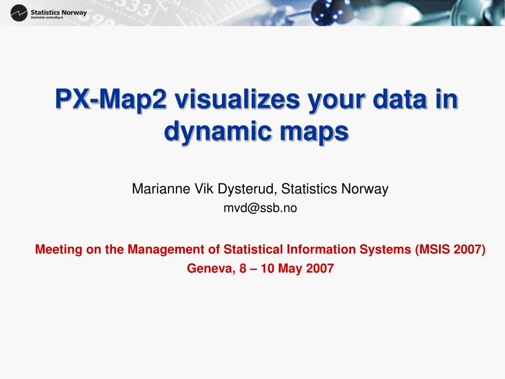 px map2 visualizes your data in dynamic maps l.