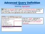 advanced query definition12