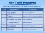 non tariff measures