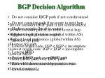 bgp decision algorithm