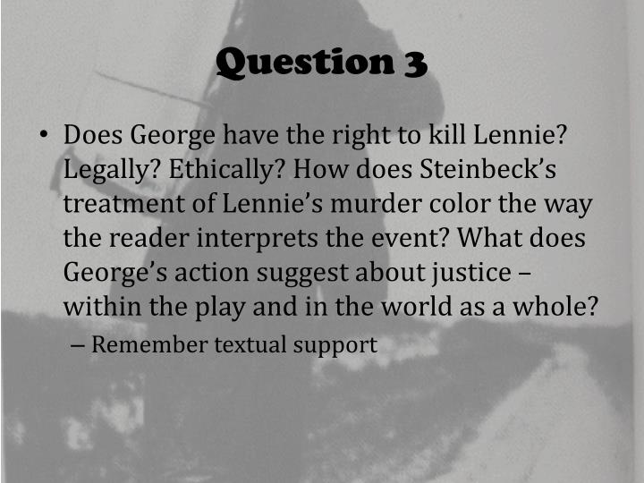 how does steinbeck present the relationship between george and lennie Lennie-model-essaydocx george-model-response-to-help-students-structure- lennie- dr-planning-assessment-about-lenniedocx.