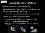 synergistic neo strategy1