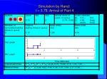 simulation by hand t 3 79 arrival of part 4