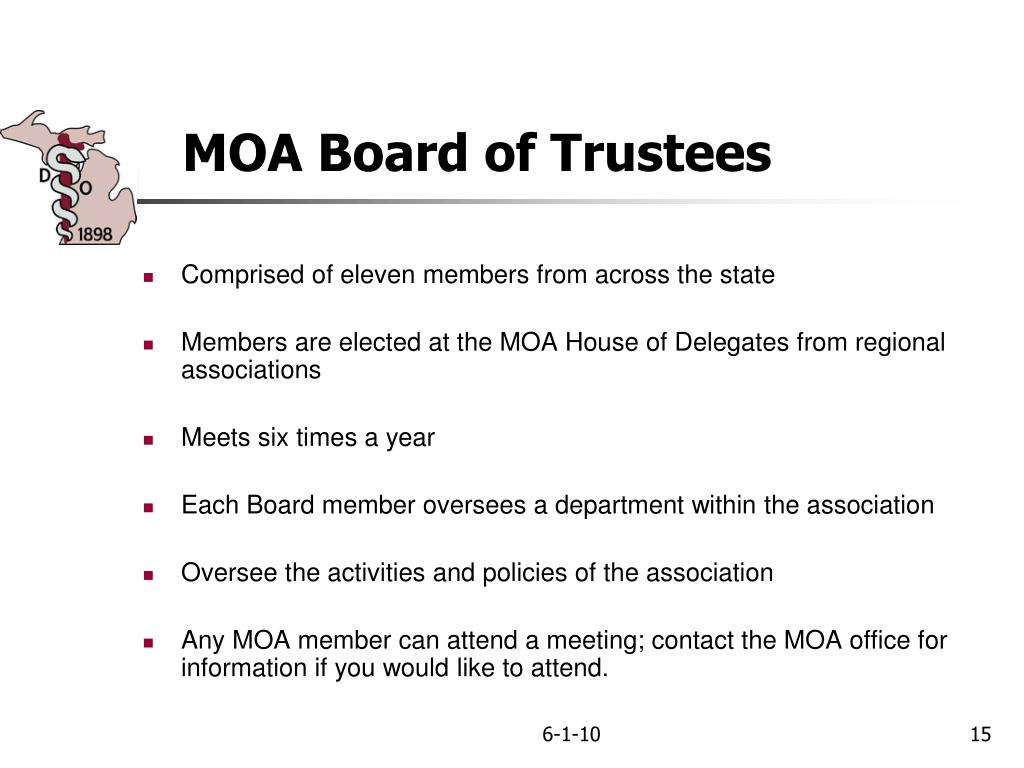 MOA Board of Trustees
