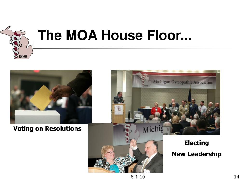 The MOA House Floor...