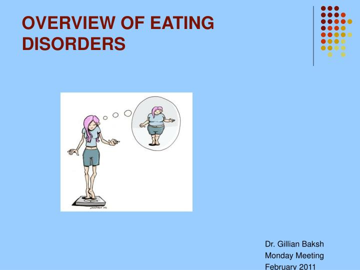 overview of eating disorders n.