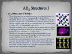 ab 2 structures i