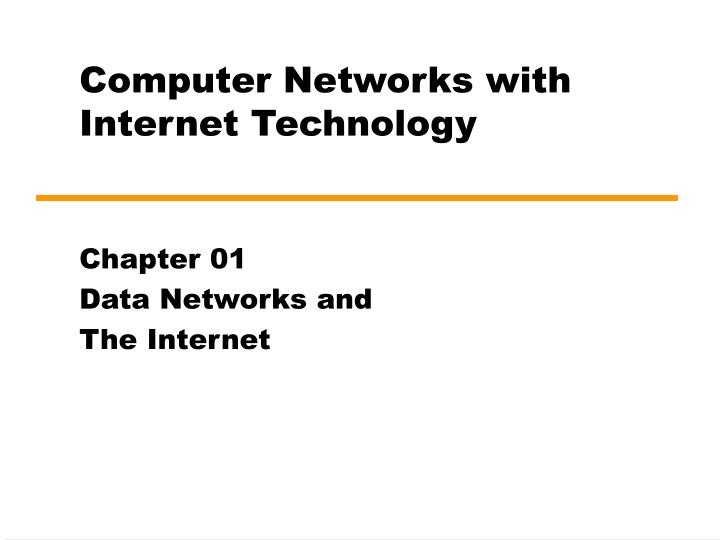 computer networks with internet technology n.