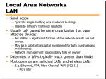 local area networks lan