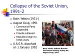 collapse of the soviet union 1991 2