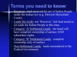 terms you need to know2