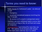 terms you need to know3