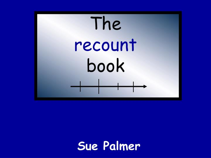 the recount book n.