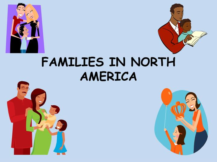 families in north america n.