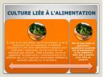 culture li e l alimentation