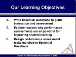 our learning objectives3