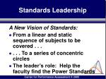 standards leadership