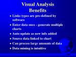 visual analysis benefits