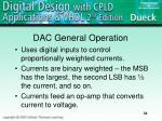 dac general operation