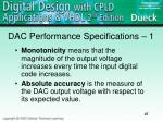 dac performance specifications 1