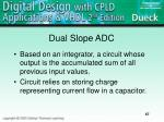 dual slope adc