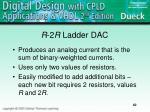 r 2 r ladder dac