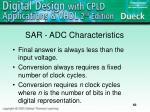 sar adc characteristics