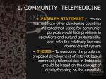 1 community telemedicine4